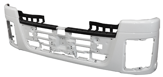 Bumper module for large truck
